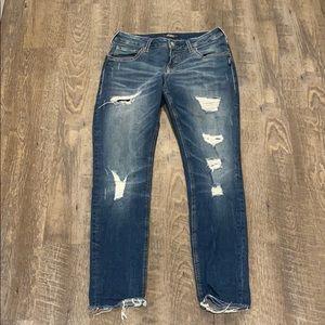 Silver Sam Ankle Length Jeans